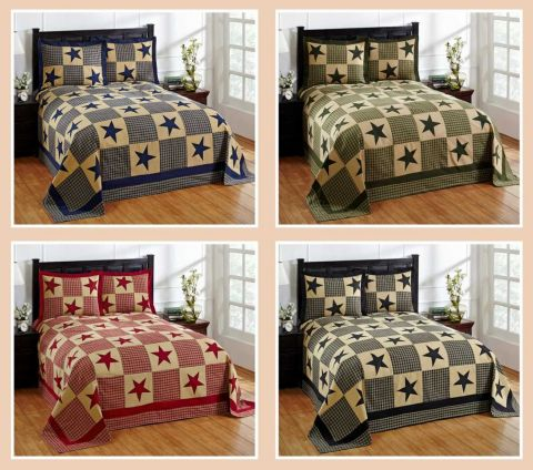 Star Bedspread with Sham