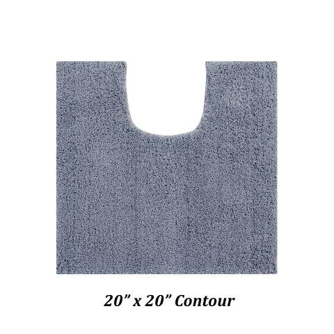 Micro Plush Collection 100% Polyester Bath Rug