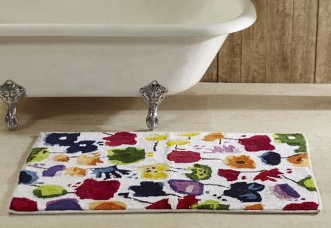 Picasso Floral Bath Rugs