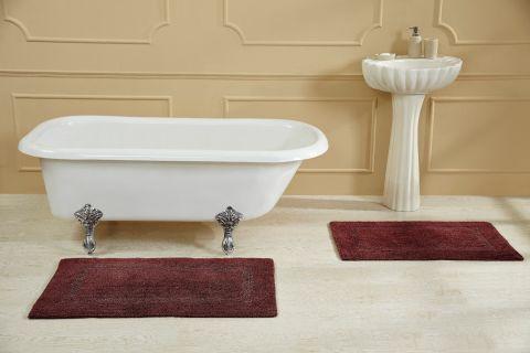 Racina Stonewash Bath Rugs