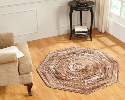 Ombre Chenille Braided Rug