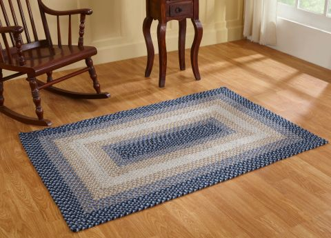 Woodbridge Rectangulars Braided Rugs