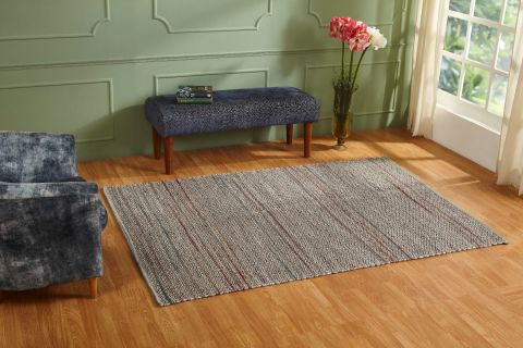 Urbane Collection 100% Wool Woven Area Rug