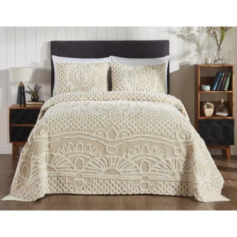 Ardent Collection 100% Cotton Twin Bedspread Set