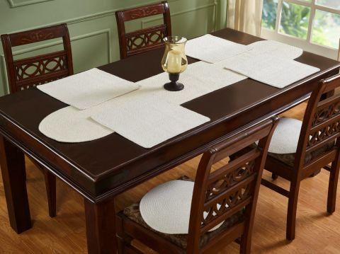 Cotton Solid Collection 4 Piece Set 100% Cotton Table Placemat