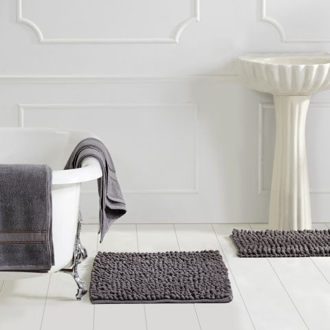 Micro Loop & Towel 3 Pc Set Bath Rugs