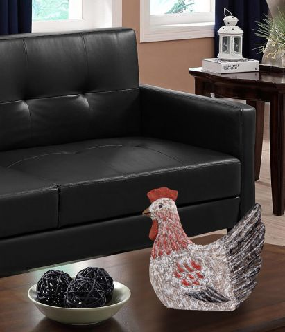 Grove Collection Rooster Show Piece in Natural